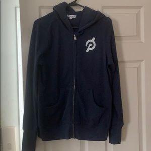 Peloton zip up hoodie